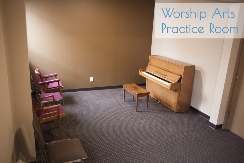 Worship Arts Practice Room